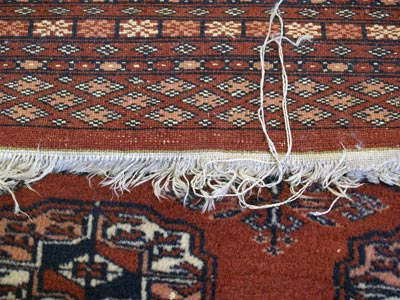Oriental Rug Fringe Repair Replacement Md Dc Va